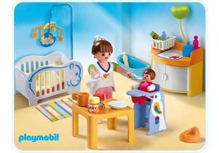 Babyzimmer  4286a  Playmobil® Deutschland