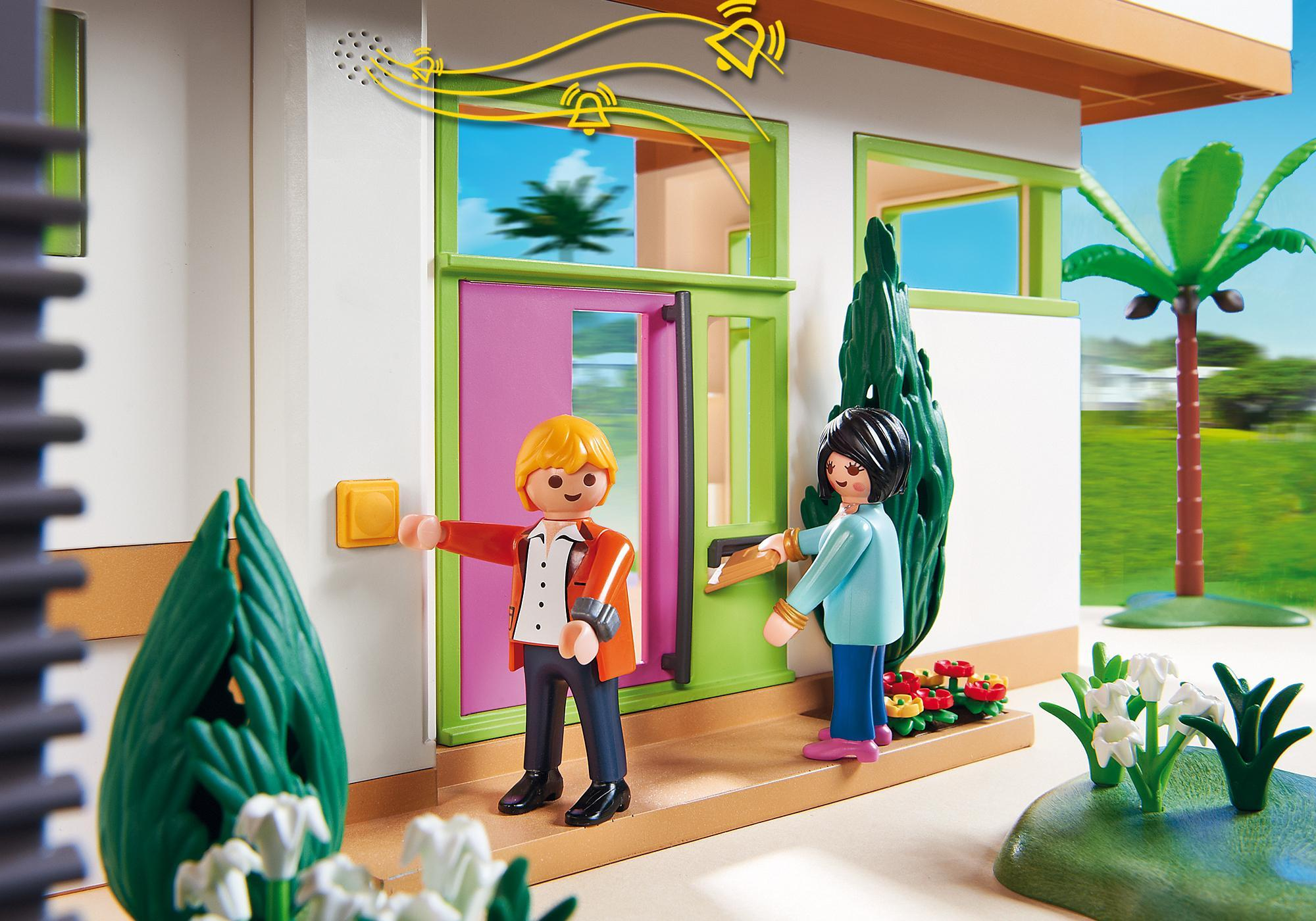 Maison Moderne De Luxe Playmobil | La Maison Moderne Playmobil ...