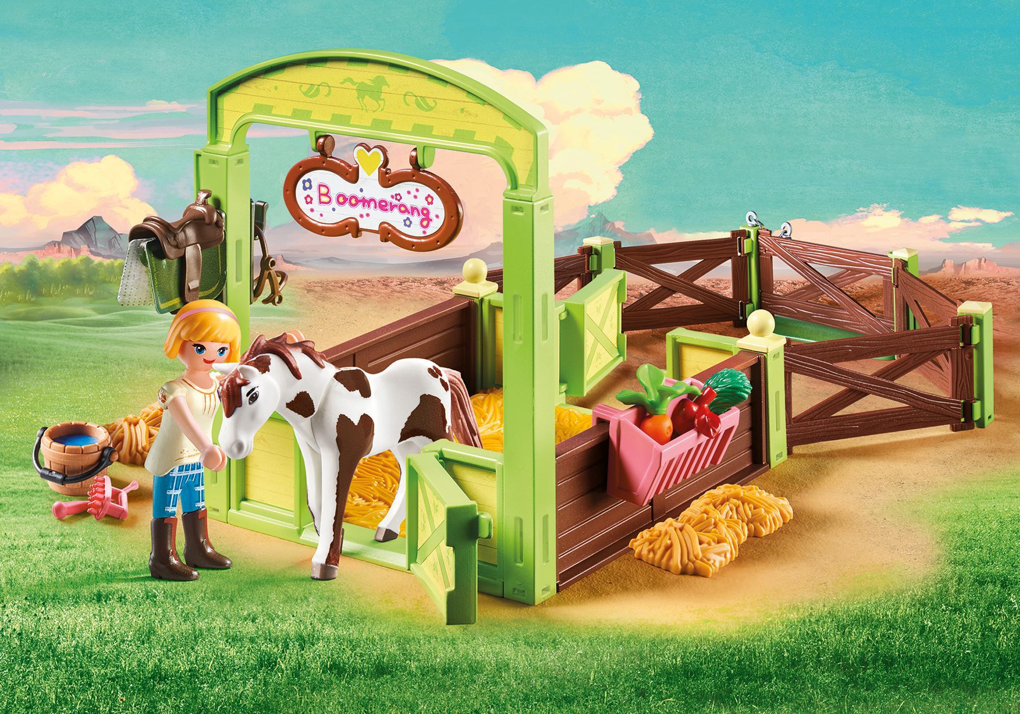 Horse Box Abigail  Boomerang  9480  PLAYMOBIL United