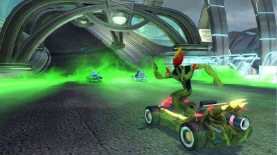 Ben 10 Galactic Racing Game Ps3 Playstation