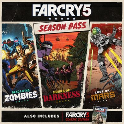 Far Cry 5 Game Ps4 Playstation
