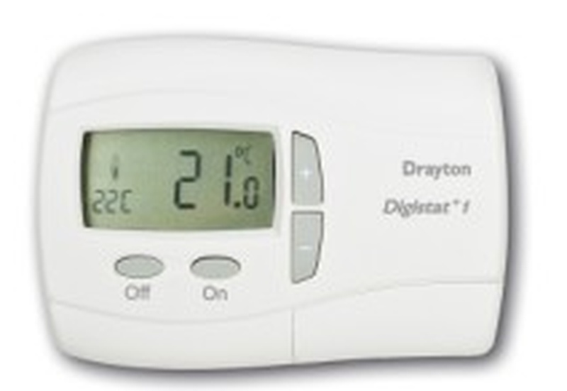 Drayton Digistat + 2 1 Day Programmable Room Thermostat
