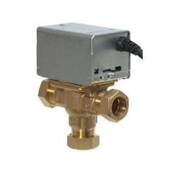 Central Heating Mid Position Valve Wiring Diagram Venn Calculator 2 Sets Honeywell V4073a1039 22m 3 Port