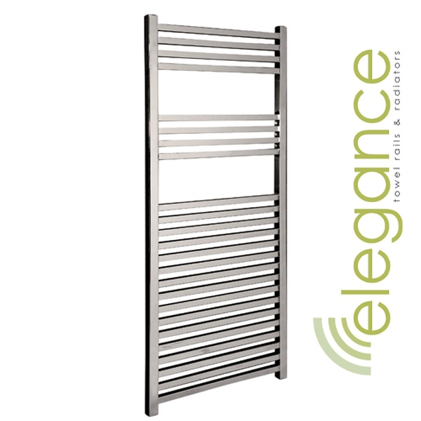 Abacus Direct Elegance Quadris Towel Warmer 1600 x 500 Chrome