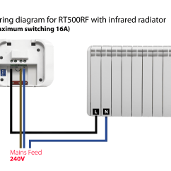 Room Stat Wiring Diagram 4 Bit Adder Subtractor Circuit Salus Rt500rf Digital Wireless Programmable Thermostat