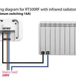 wiring a rf thermostat wiring diagram local wiring a wireless thermostat receiver wiring a wireless room [ 5184 x 3456 Pixel ]