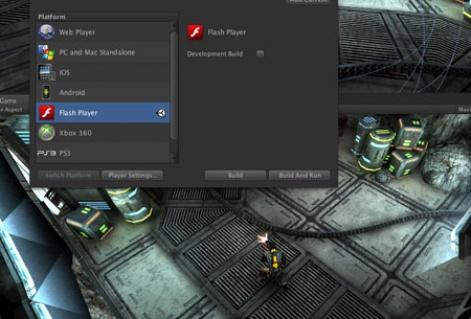 Unity adds support for Flash 11; backs beta preview with shortform $20.000 devel | Pocket Gamer.biz | PGbiz