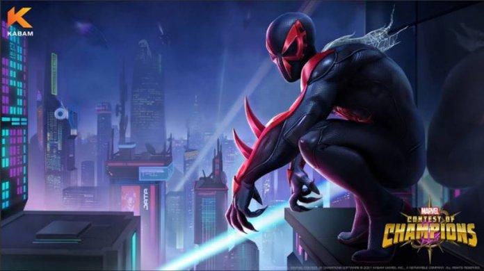 Marvel concurso de campeões homem-aranha 2099