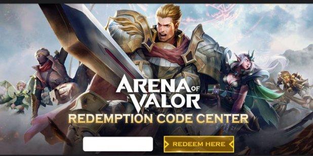 arena of valor redeem codes