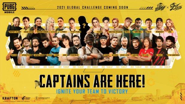 pubg mobile team up challenge 2021