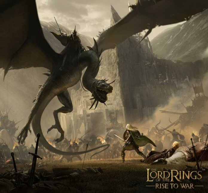 The Lord of the Rings Rise to War iOS Android Artwork Minas Tirith Siege jpg 820 asiafirstnews