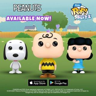 funko pop blitz peanuts