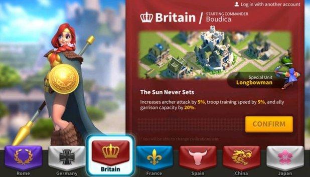 rise of kingdoms - britain