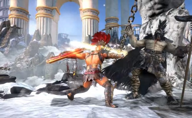 Gameloft Reveals Greek Mythology Based Fighting Game Gods