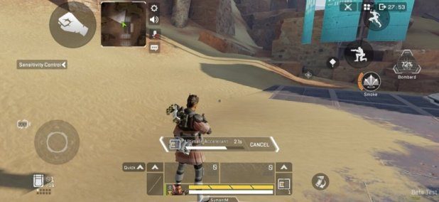 Apex Legends Mobile ultimate and tactical cooldowns