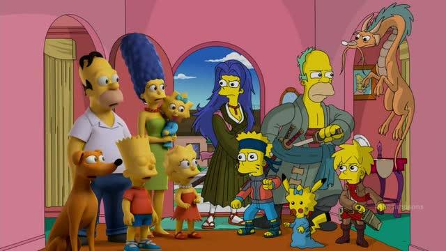 Simpsons Treehouse 25  Maggie Pikachu  PocketmonstersNet