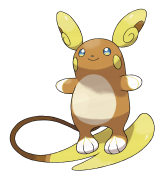 Image result for alolan raichu global link png