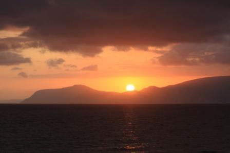 Sunset Serra da Arrabida Nature Reserve