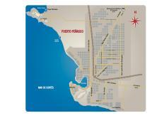Mexico Point Rocky Puerto Penasco Map