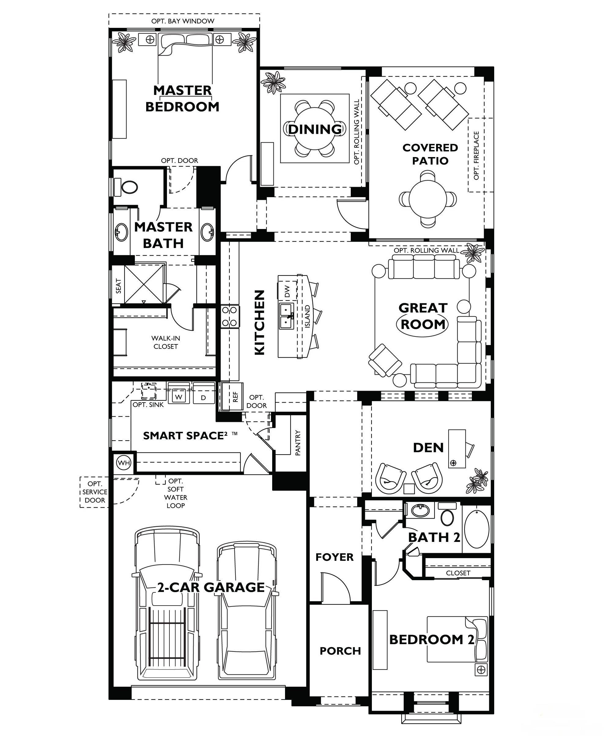 Trilogy At Vistancia Nice Floor Plan Model Home Shea