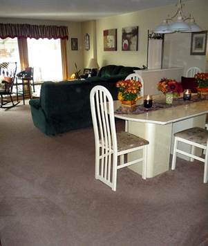Open Living Room Dining Room Combo