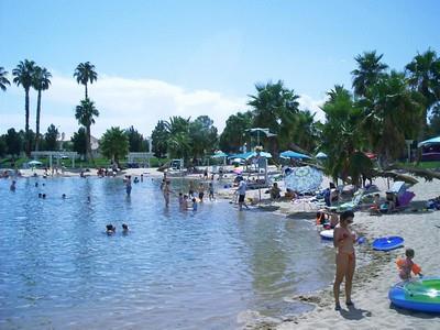 Desert Shores Community Beach