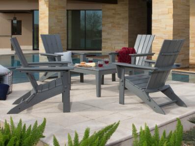 adirondack chair sets polywood