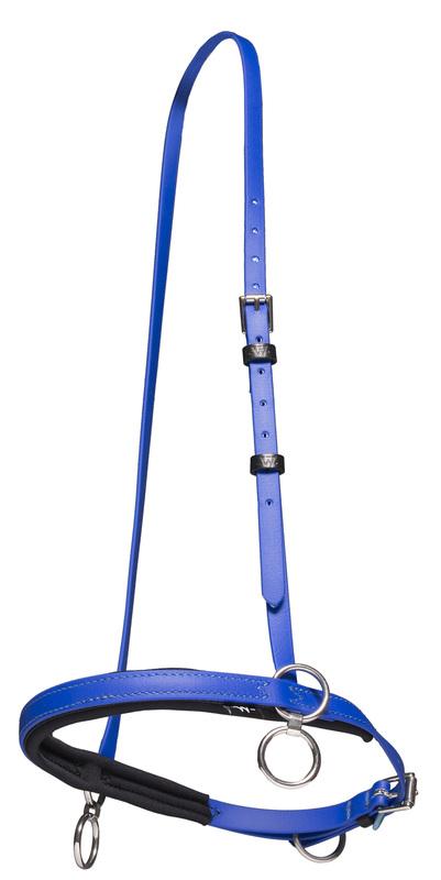Spärrgrimma blå