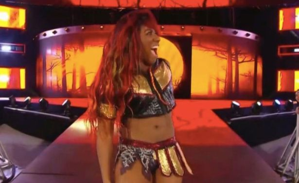 Image result for Ember Moon raw debut