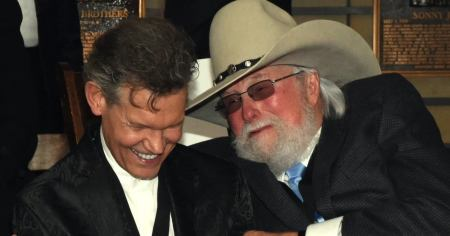 Video of the Day: Randy Travis Shares Touching Video of Late Country Singer Charlie Daniels Praying with him