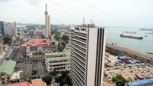 Lagos city, downtown