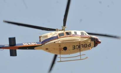 POLICE HELICOPTER CRASHES