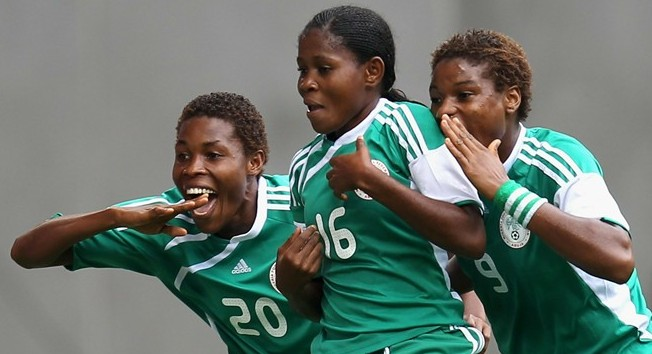 The Nigerian U-20 women beat a hard fighting Mexican team to qualify for the semi-final of the world cup.