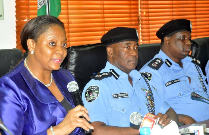 INAUGURATION OF POLICE SECONDMENT TO SEC IN ABUJA