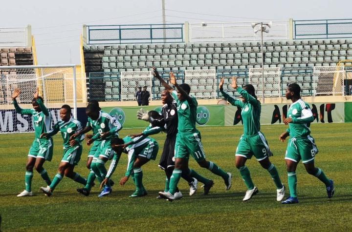 Nigeria under 17 female team