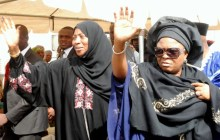 FIRST LADY CONDOLES WITH YAKOWA'S FAMILY IN KADUNA