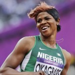 Blessing Okagbare is rode high in 2014