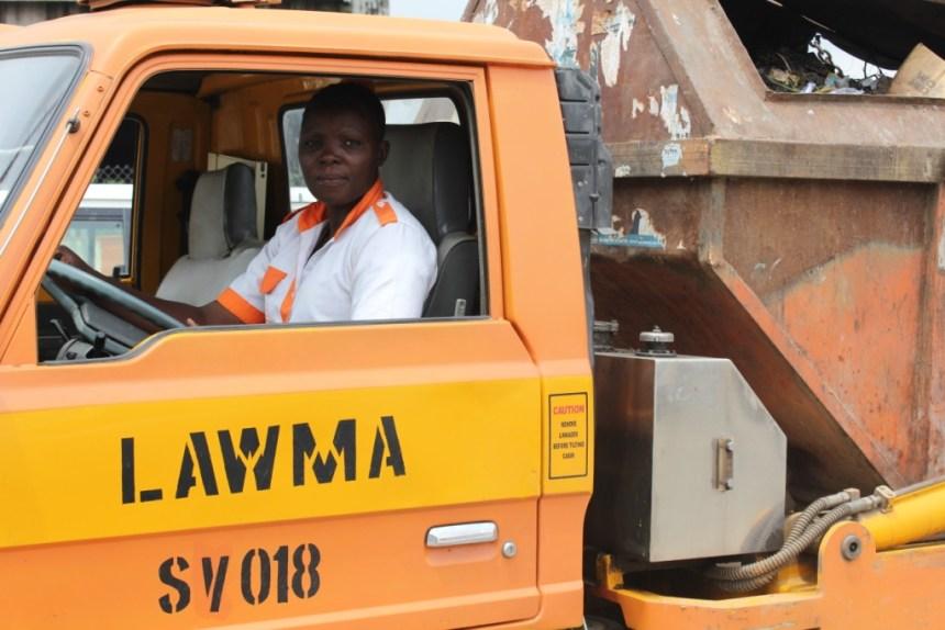 LAWMA Truck Photo: greennigeria.wordpress.com