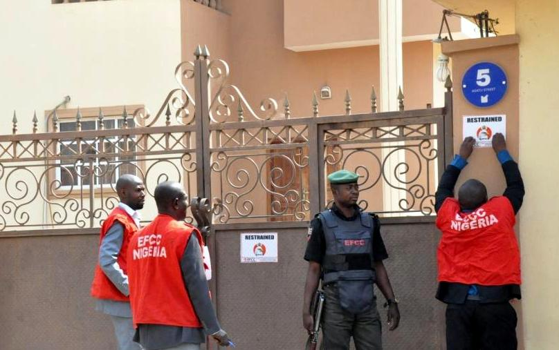 Image result for efcc  TROUBLE AGAIN! ONNOGHEN TO FACE FRESH TRIALS AS EFCC TO DRAG HIM TO COURT FOR MONEY LAUNDERING, HUGE AMOUNTS DISCOVERED Timipriye sylva house efcc sealed