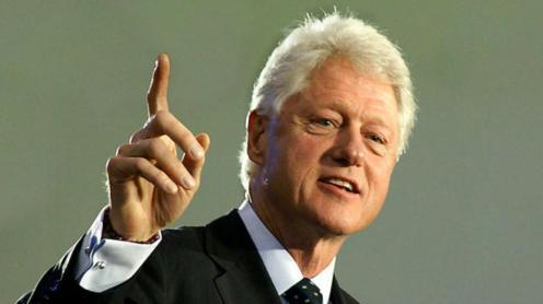 Former U.S. President, Bill Clinton