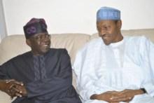 Bola Tinubu and Muhammadu Buhari