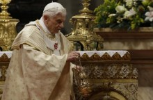 Ex-Pope Benedict XVI stepped down yesterday