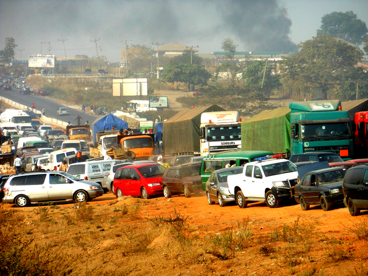 FILE PHOTO: Gridlock used to illustrate the story