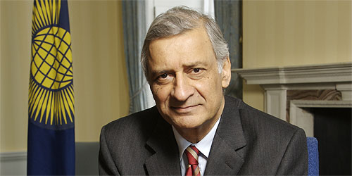 Commonwealth Secretary General, Kamalesh Sharma... Photo: Courtesy www.thecommonwealth.org