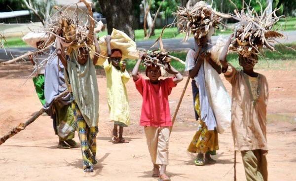 Children running errands during school hours in Northern Nigeria