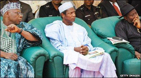 OBJ, Yar'Adua, Jonathan