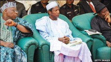 Obasanjo. Yar'adua and Jonathan
