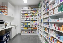 A pharmacy used to illustrate the story