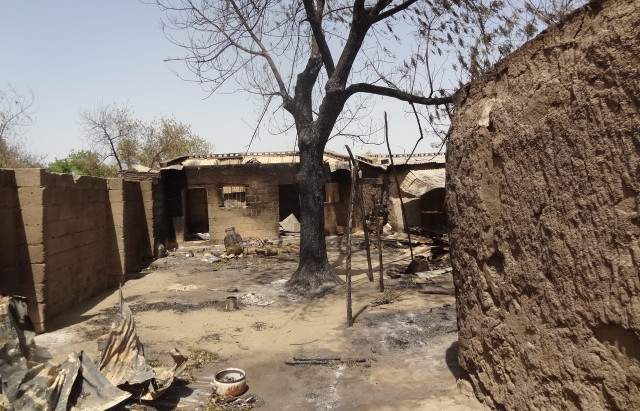 File Photo: Boko Haram attack on Baga in May 2013...  On January 3, 2015, Baga came under its heaviest Boko Haram attack ever. Survivors said bodies piled like flies.