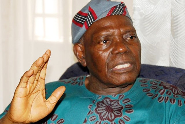 Bisi Akande, former Interim National Chairman, All Progressives Congress, APC